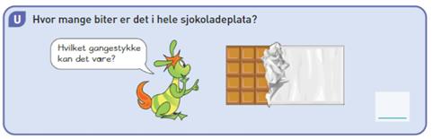 Utforskingsoppgave Sjokolade