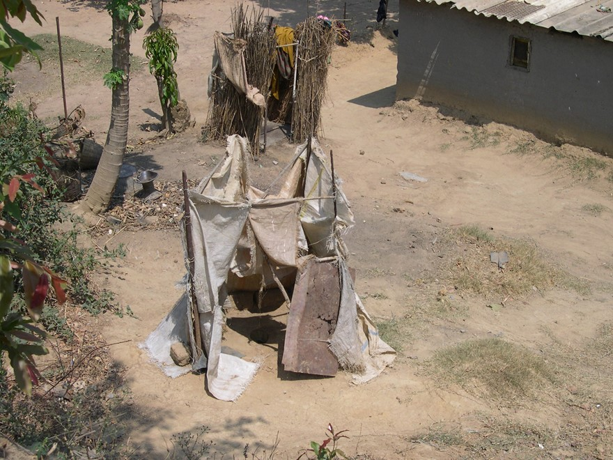 Pit Latrines In Zambia